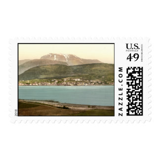 Fort William and Ben Nevis, Inverness, Scotland Stamps