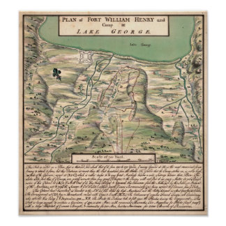 Fort William Henry. Poster