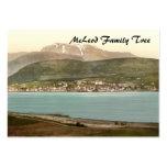 Fort William y Ben Nevis, Inverness, Escocia Tarjetas De Visita