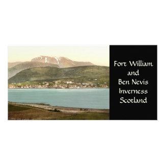 Fort William y Ben Nevis, Inverness, Escocia Tarjetas Fotográficas