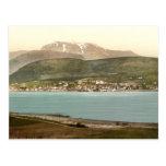 Fort William y Ben Nevis, Inverness, Escocia Tarjetas Postales