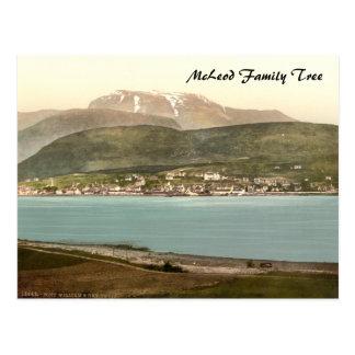 Fort William y Ben Nevis, Inverness, Escocia Postales
