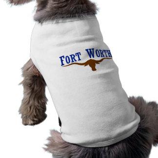 Fort Worth Flag Dog Shirt