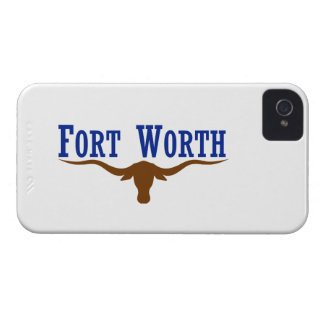 Fort Worth Flag iPhone 4 Case