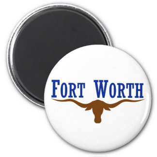 Fort Worth Flag Magnet