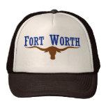 Fort Worth Flag Mesh Hat