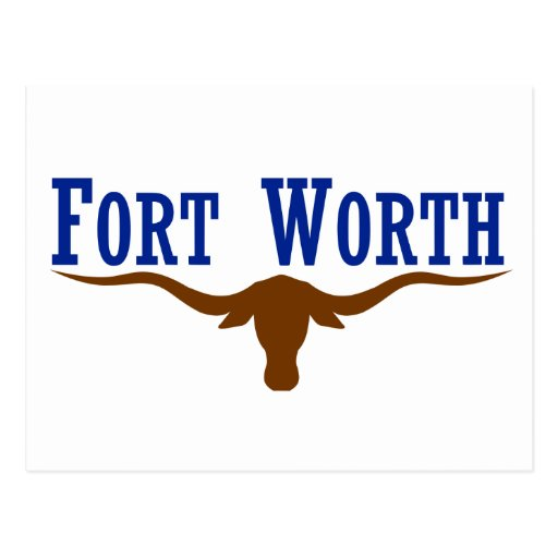 Fort worth flag postcard zazzle for Fort worth t shirt printing