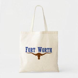 Fort Worth Flag Tote Bag