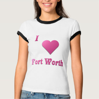 Fort Worth -- Hot Pink T-Shirt