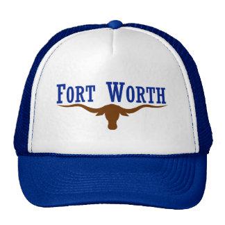 Fort worth Longhorn Trucker Hat