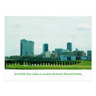 Fort Worth skyline Postcard