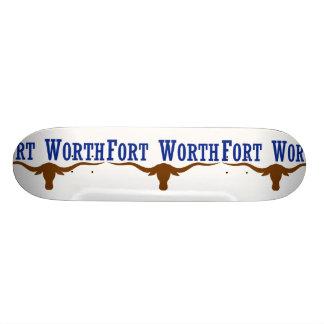 Fort Worth, Tejas, Estados Unidos Monopatín Personalizado