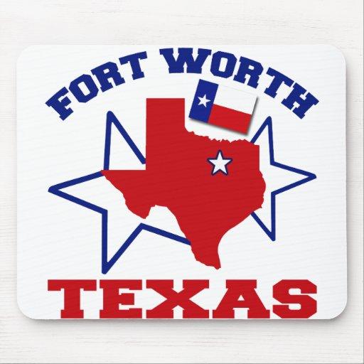 Fort Worth, Tejas Tapetes De Ratones