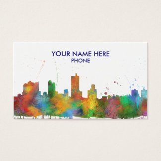FORT WORTH, TEXAS - Business cards