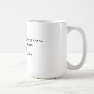Fort Worth Texas Federal Prison Coffee Mug