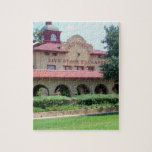 Fort Worth, Texas Livestock and Exchange Building Jigsaw Puzzles