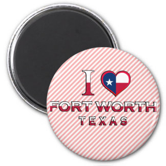 Fort Worth, Texas Magnet