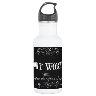 Fort Worth, Texas - Queen City of the Prairie Water Bottle