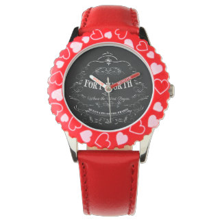 Fort Worth, Texas - Queen City of the Prairie Wrist Watches