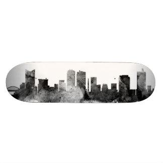 Fort Worth Texas Skyline Skate Decks
