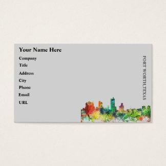 FORT WORTH, TEXAS SP - BUSINESS CARD