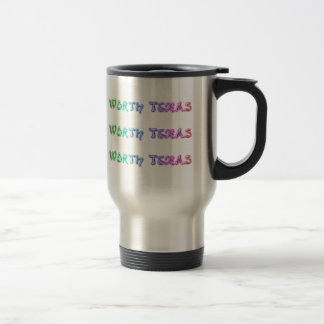 Fort Worth Texas Travel Mug