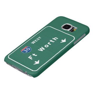 Fort Worth Texas tx Interstate Highway Freeway : Samsung Galaxy S6 Case