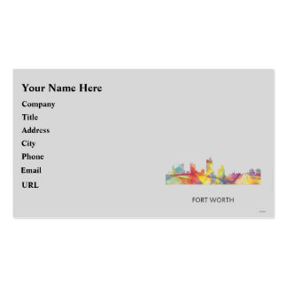 FORT WORTH, TEXAS WB1 - BUSINESS CARD