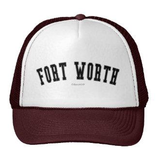 Fort Worth Trucker Hat