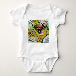 Fort Worth TX Baby Bodysuit