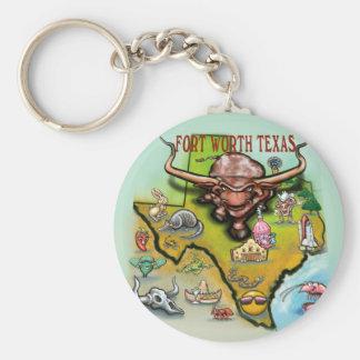 Fort Worth TX Keychain