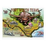Fort Worth TX Postcard