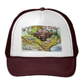 Fort Worth TX Trucker Hat