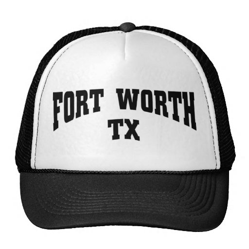 Fort worth tx trucker hat zazzle for Custom t shirts fort worth