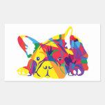 Fortaleces bulldog francés de colores