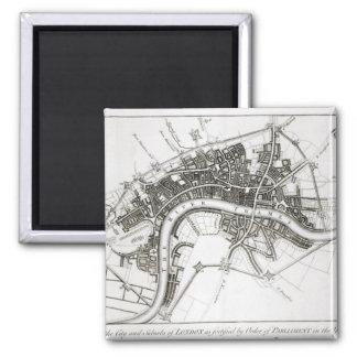 Fortalecimientos de Londres en 1642 y 1643, 1738 Imán Cuadrado