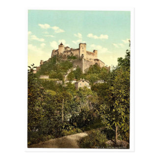 Fortaleza Alto-Salzburg (es decir, Hohensalzburg), Postal