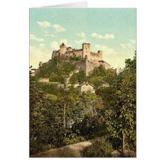 Fortaleza Alto-Salzburg (es decir, Hohensalzburg), Tarjeta De Felicitación