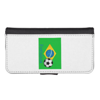 Fortaleza Brazilian Flag iPhone SE/5/5s Wallet Case