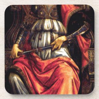 Fortaleza de ánimo de Sandro Botticelli Posavasos De Bebidas