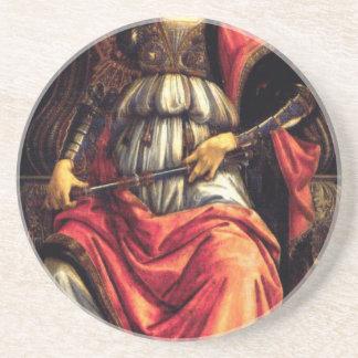 Fortaleza de ánimo de Sandro Botticelli Posavasos Personalizados