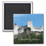 Fortaleza de Hohensalzburg, Austria Imanes Para Frigoríficos