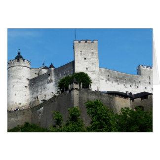 Fortaleza de Hohensalzburg, Austria Tarjeta De Felicitación