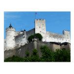 Fortaleza de Hohensalzburg, Austria Tarjeta Postal