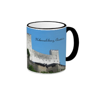 Fortaleza de Hohensalzburg, Austria Taza De Dos Colores