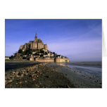 Fortaleza de la isla del St. Miguel Famous Le Mont Tarjeta