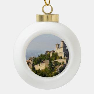 Fortaleza de los di San Marino, Italia de Città Adorno De Cerámica En Forma De Bola