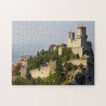 Fortaleza de los di San Marino, Italia de Città Puzzles