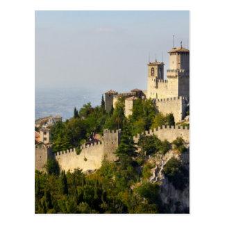 Fortaleza de los di San Marino, Italia de Città Tarjeta Postal