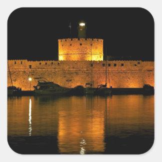 Fortaleza de San Nicolás - Šibenik, Croacia Etiqueta